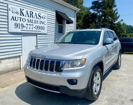 2011 Jeep Grand Cherokee for sale at Karas Auto Sales Inc. in Sanford NC