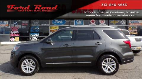 2018 Ford Explorer for sale at Ford Road Motor Sales in Dearborn MI