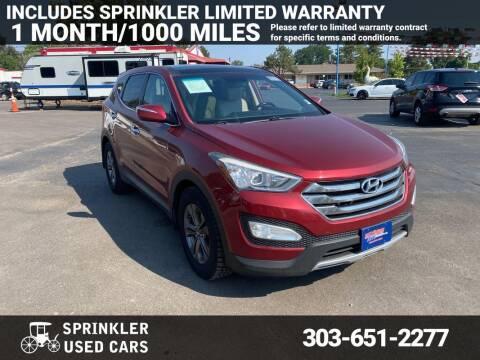 2013 Hyundai Santa Fe Sport for sale at Sprinkler Used Cars in Longmont CO