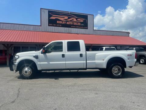 2009 Ford F-350 Super Duty for sale at Ridley Auto Sales, Inc. in White Pine TN
