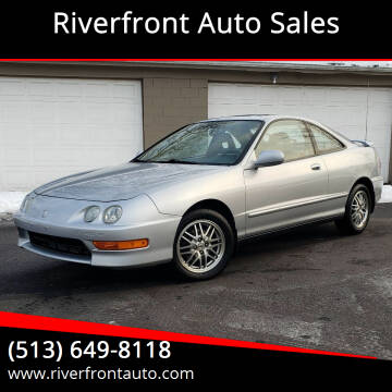 2001 Acura Integra for sale at Riverfront Auto Sales in Middletown OH