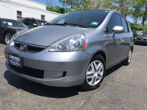 2007 Honda Fit for sale at Certified Auto Exchange in Keyport NJ