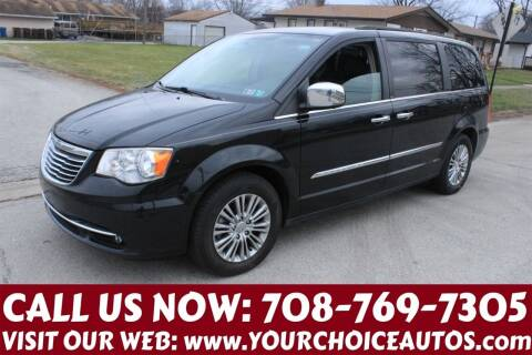 2013 Chrysler Town and Country for sale at Your Choice Autos in Posen IL