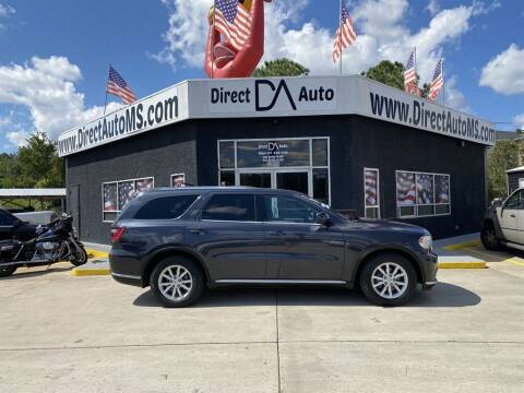 2014 Dodge Durango for sale at Direct Auto in D'Iberville MS