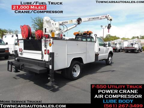 2003 Ford F-550 Super Duty for sale at Town Cars Auto Sales in West Palm Beach FL
