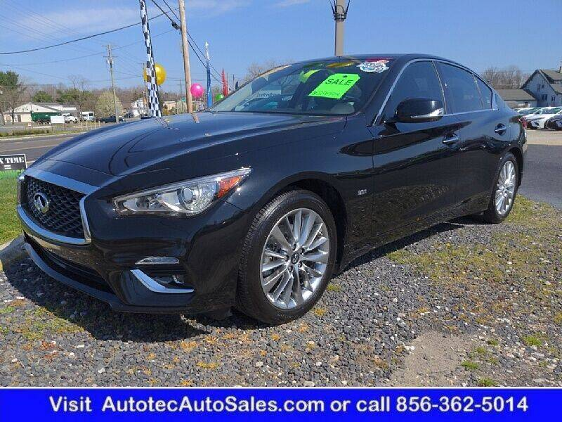 2018 Infiniti Q50 for sale at Autotec Auto Sales in Vineland NJ