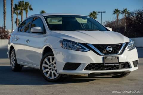 2018 Nissan Sentra for sale at Euro Auto Sales in Santa Clara CA