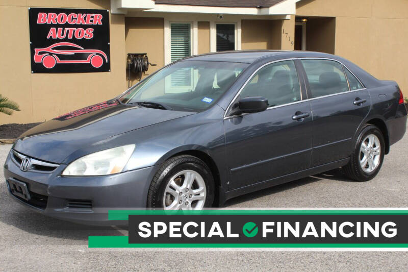 2007 Honda Accord for sale at Brocker Autos in Humble TX
