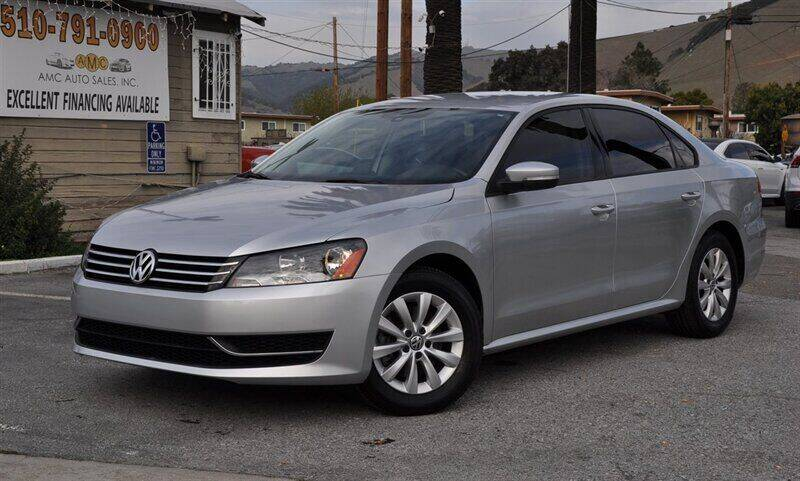 2015 Volkswagen Passat for sale at AMC Auto Sales, Inc. in Fremont CA