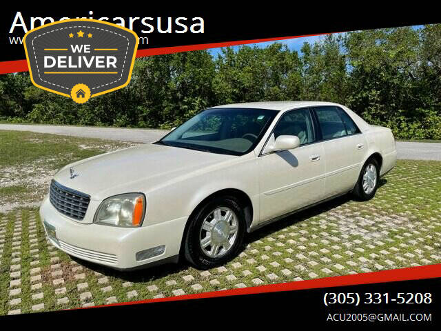 2003 Cadillac DeVille for sale at Americarsusa in Hollywood FL