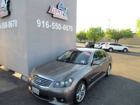 2009 Infiniti M35 for sale at LIONS AUTO SALES in Sacramento CA