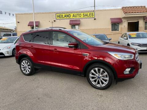2017 Ford Escape for sale at HEILAND AUTO SALES in Oceano CA