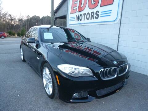 2013 BMW 5 Series for sale at Edge Motors in Mooresville NC