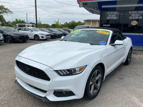 2015 Ford Mustang for sale at Cow Boys Auto Sales LLC in Garland TX