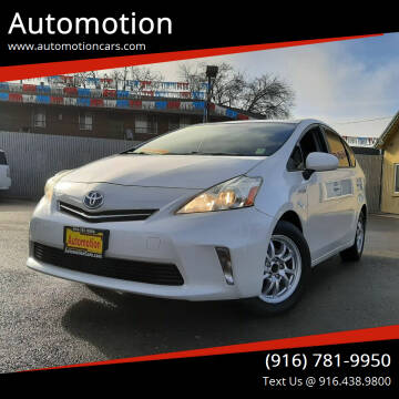 2012 Toyota Prius v for sale at Automotion in Roseville CA