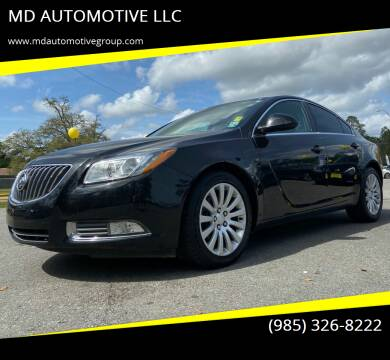 2011 Buick Regal for sale at MD AUTOMOTIVE LLC in Slidell LA