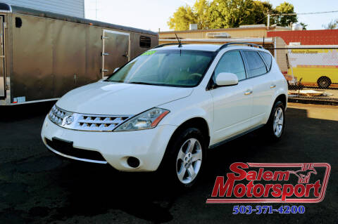 2007 Nissan Murano for sale at Salem Motorsports in Salem OR