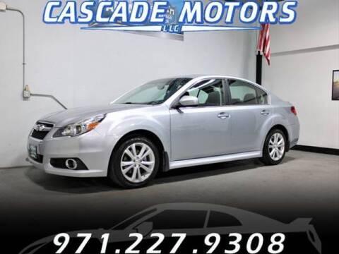 2014 Subaru Legacy for sale at Cascade Motors in Portland OR