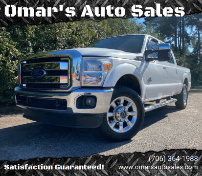 2015 Ford F-250 Super Duty for sale at Omar's Auto Sales in Martinez GA