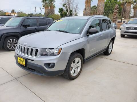 2016 Jeep Compass for sale at A AND A AUTO SALES in Gadsden AZ