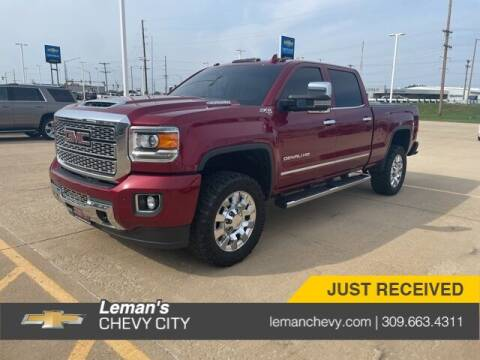 2018 GMC Sierra 2500HD for sale at Leman's Chevy City in Bloomington IL