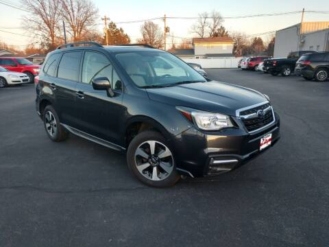 2017 Subaru Forester for sale at CITY SELECT MOTORS in Galesburg IL