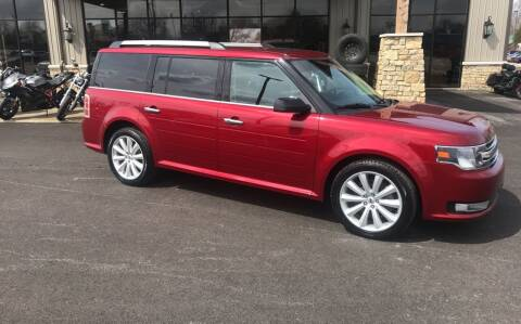 2016 Ford Flex for sale at Premier Auto Source INC in Terre Haute IN