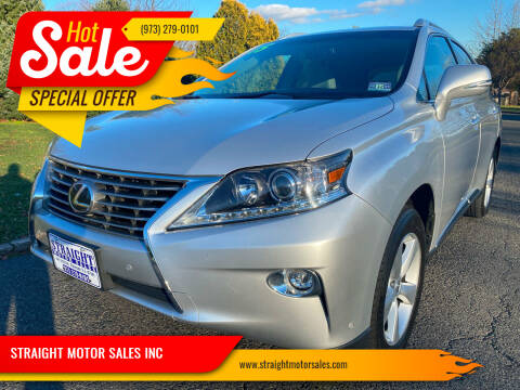 2015 Lexus RX 350 for sale at STRAIGHT MOTOR SALES INC in Paterson NJ