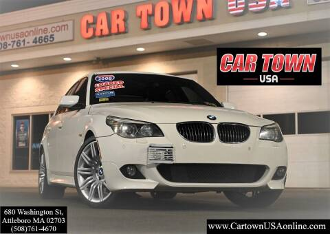 2008 BMW 5 Series for sale at Car Town USA in Attleboro MA