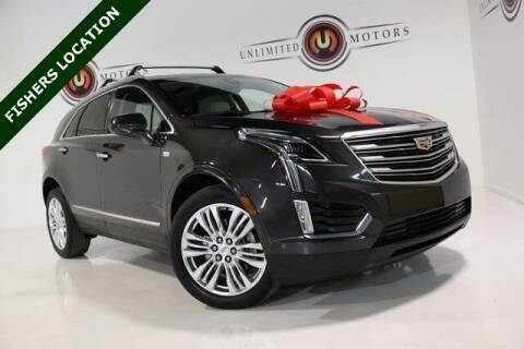 2017 Cadillac XT5 for sale at Unlimited Motors in Fishers IN