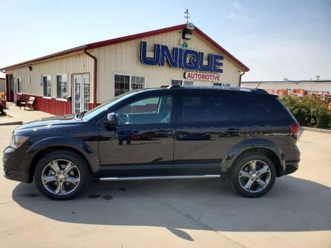 """2017 Dodge Journey for sale at UNIQUE AUTOMOTIVE """"BE UNIQUE"""" in Garden City KS"""