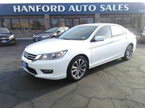 2014 Honda Accord for sale at Hanford Auto Sales in Hanford CA