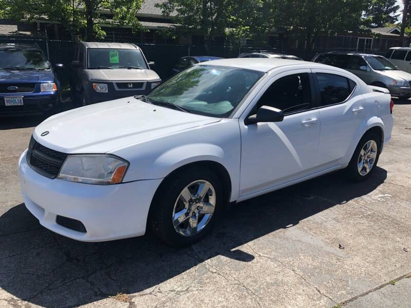 2014 Dodge Avenger for sale at Blue Line Auto Group in Portland OR