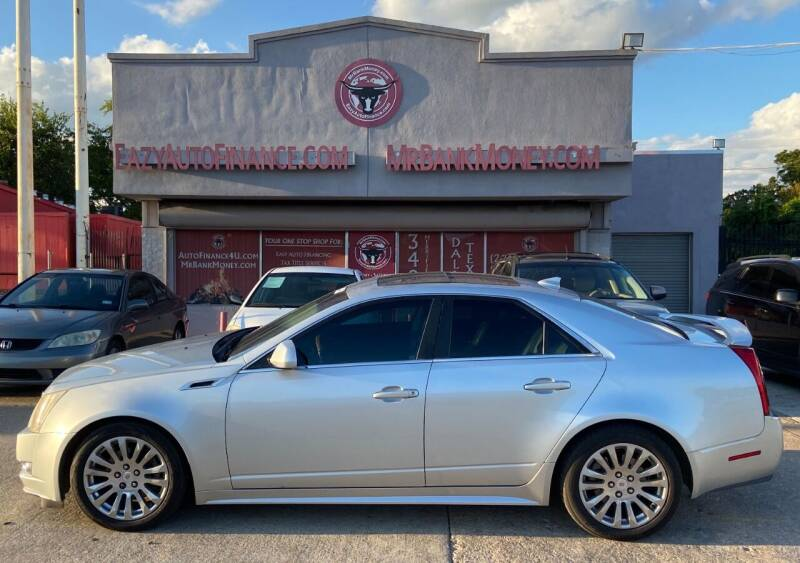 2012 Cadillac CTS for sale at Eazy Auto Finance in Dallas TX