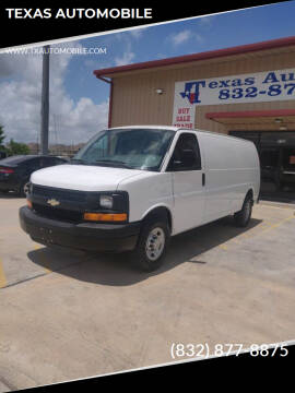 2010 Chevrolet Express Cargo for sale at TEXAS AUTOMOBILE in Houston TX