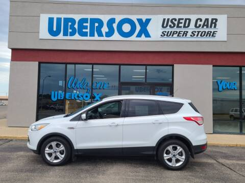 2015 Ford Escape for sale at Ubersox Used Car Superstore in Monroe WI