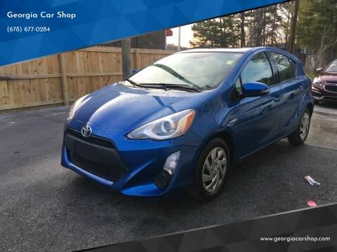 2015 Toyota Prius c for sale at Georgia Car Shop in Marietta GA