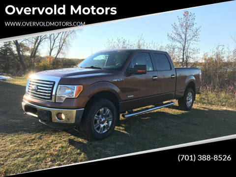 2012 Ford F-150 for sale at Overvold Motors in Detriot Lakes MN