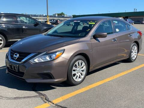 2017 Nissan Altima for sale at Ludlow Auto Sales in Ludlow MA
