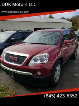 2011 GMC Acadia for sale at DDK Motors LLC in Rock Hill NY