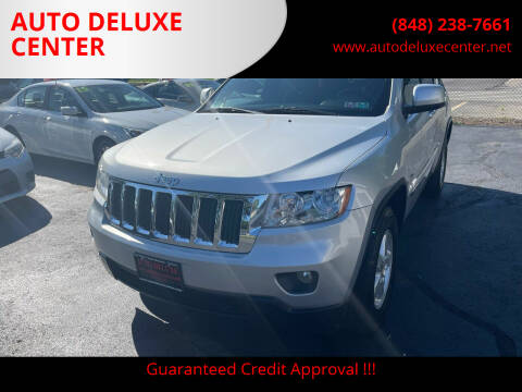 2012 Jeep Grand Cherokee for sale at AUTO DELUXE CENTER in Toms River NJ