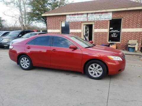 2007 Toyota Camry Hybrid for sale at El Jasho Motors in Grand Prairie TX