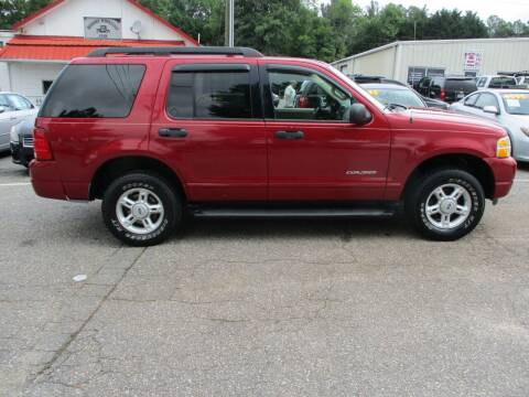2005 Ford Explorer for sale at Hickory Wholesale Cars Inc in Newton NC