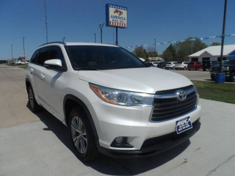 2014 Toyota Highlander for sale at America Auto Inc in South Sioux City NE
