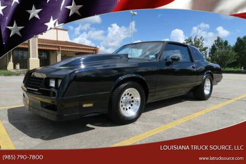 1984 Chevrolet Monte Carlo for sale at Louisiana Truck Source, LLC in Houma LA
