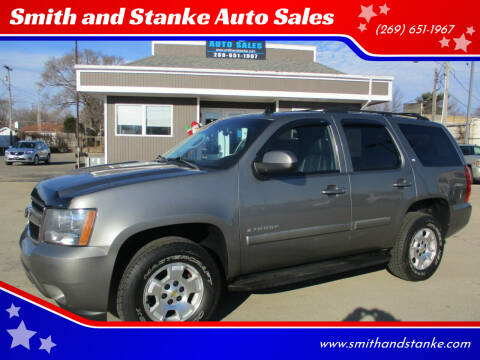 2009 Chevrolet Tahoe for sale at Smith and Stanke Auto Sales in Sturgis MI