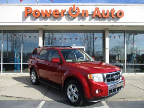 2010 Ford Escape for sale at Power On Auto LLC in Monroe NC