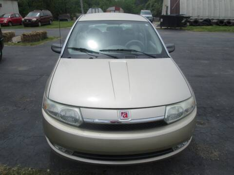 2003 Saturn Ion for sale at Knauff & Sons Motor Sales in New Vienna OH