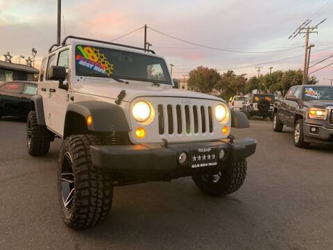 2018 Jeep Wrangler JK Unlimited for sale at 5 Star Auto Sales in Modesto CA