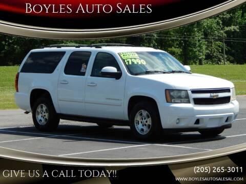 2007 Chevrolet Suburban for sale at Boyles Auto Sales in Jasper AL